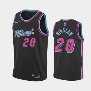 Miami Heat #20 Justise Winslow City Jersey